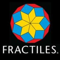 Fractiles Award-winning magnetic tiling puzzle, Creative math-based learning tool, Made in USA, Made in America, American made, USA Made