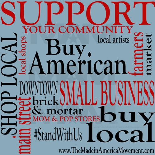 support american made, support made in usa, support american manufacturing, look for the made in usa label, where can i find made in usa jeans, where can i find american made jeans, where can i find american made clothes, where can i find american made food, buy local, support local, farmers market, shop local, stand with us