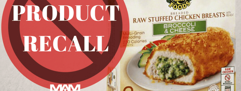 1.7 million lbs of Frozen Chicken May Be Contaminated with Salmonella