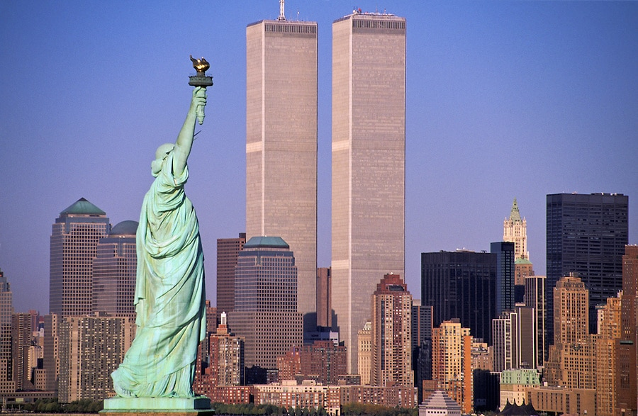 Image result for remembering 9/11 and statue of liberty