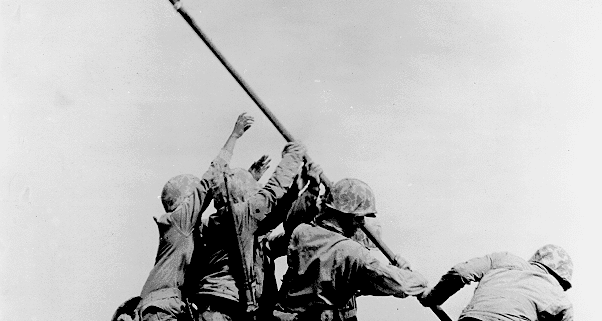 Flashback: Raising the Flag at Iwo Jima