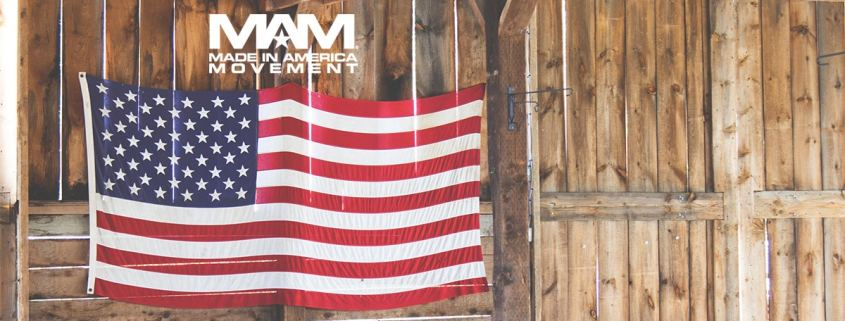 Made in America - Flag in Barn