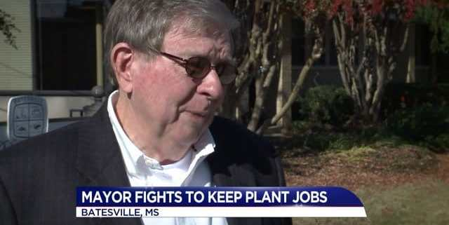 Mayor fights to keep jobs at Batesville Caskets in Missouri, coffins, outsourcing
