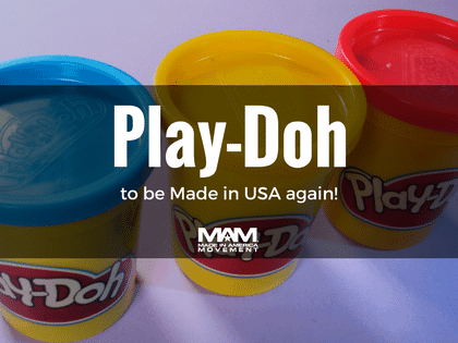 Play-Doh Will Be Made in The USA For The First Time in a Decade