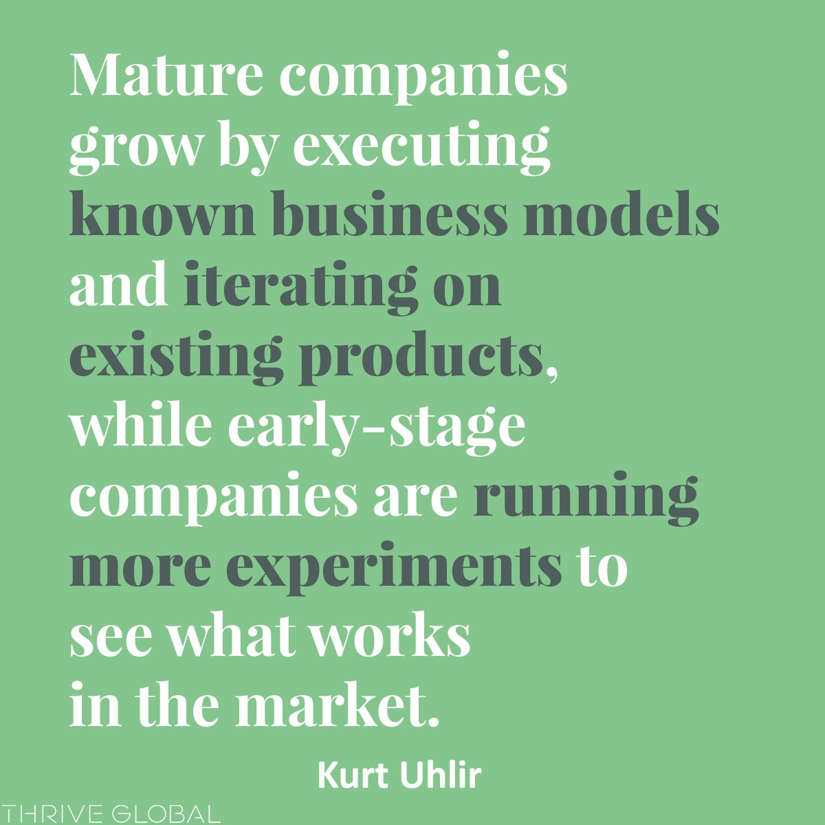 early-stage companies