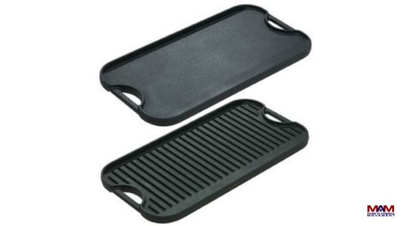 Lodge Pro Grid Iron Griddle, Fathers Day Guide, Made in America Father's Day Gifts | Made in USA Gifts For The Dad In Your Life, Father's Day Gift
