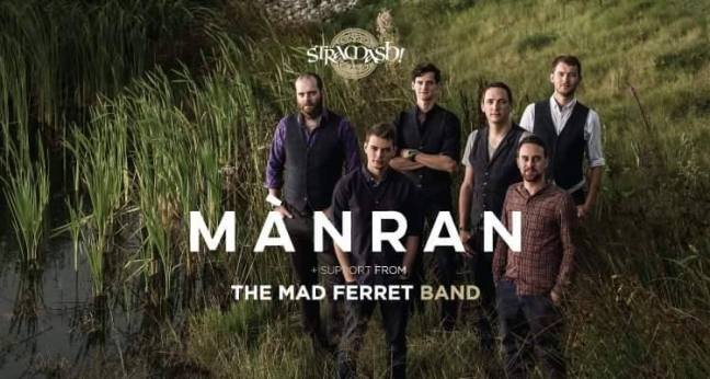 Mànran Live at Stramash with The Mad Ferret Band