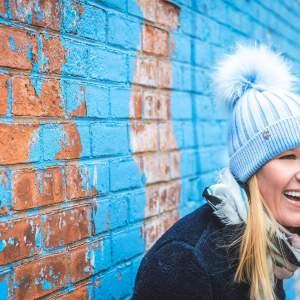 Luxury Angora Fur Bobble Hat