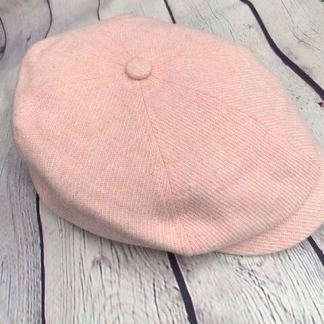 Corduroy Panel Newsboy Cap