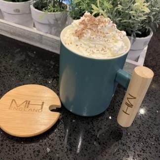 Bamboo Handle Mug