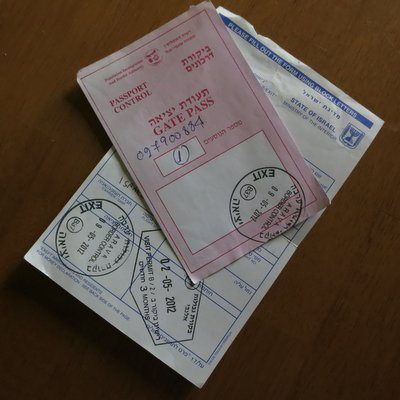 I Dont Want Israel To Stamp My Passport