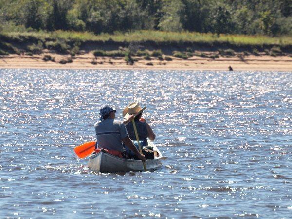 Wisconsin River Canoe Paddling