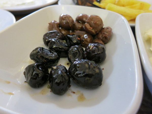 It's not Turkish breakfast without olives.