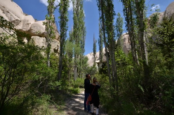 Hiking between Ortahisar and Goreme
