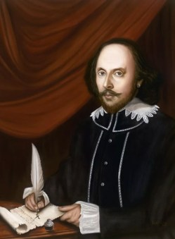 William Shakespeare Portrait - Maestro Art Giclee Paintings and Murals