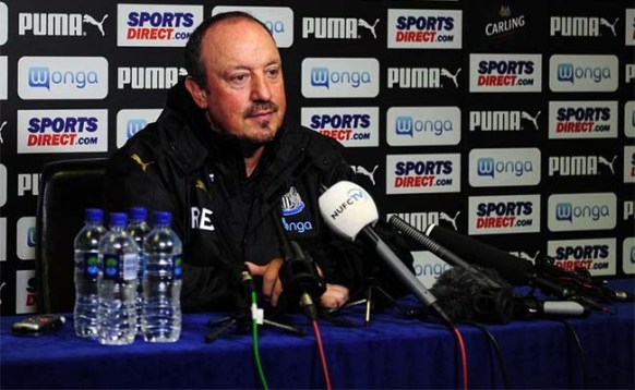 Image result for benitez newcastle press conference