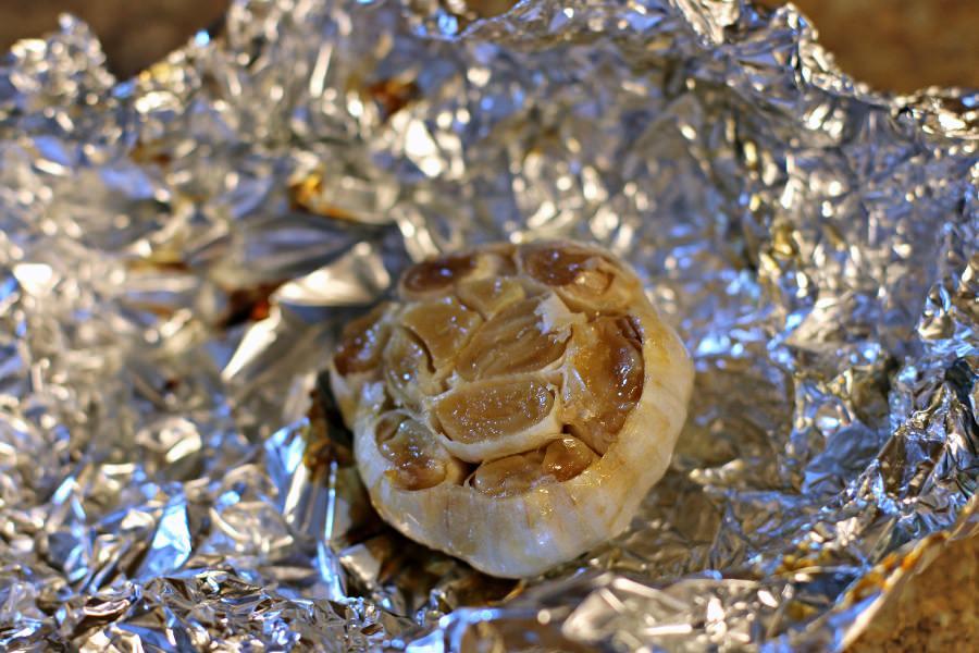 Roasted Garlic done