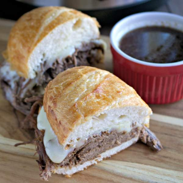 Slow Cooker French Dips