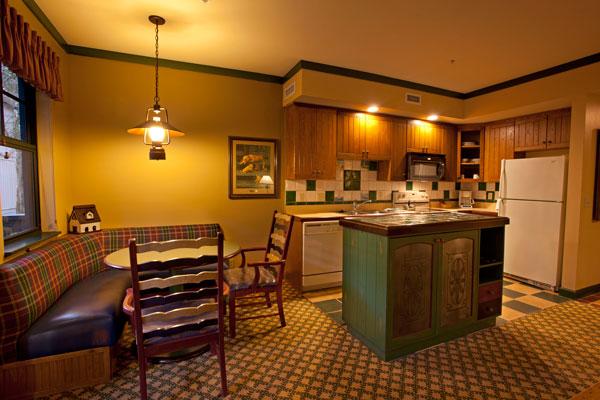 One Bedroom Villa Kitchen At Disney S Hilton Head Island
