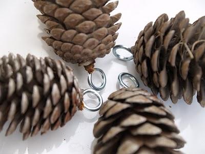 handmade beeswax Christmas ornaments
