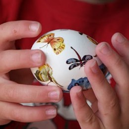 The Prettiest Easter Eggs.