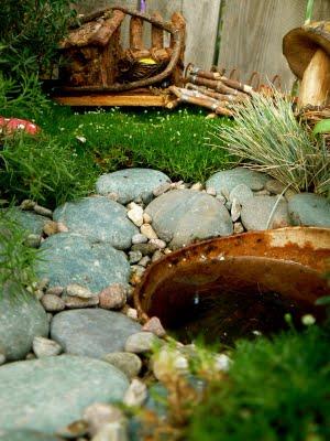 Creative play in our Fairy Garden