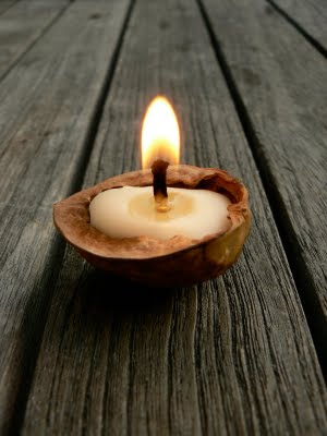 enchanting walnut candles