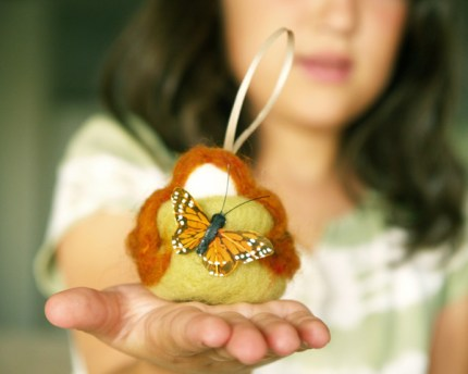 Make Needle Felted Autumn Fairies : Tutorial : www.theMagicOnions.com