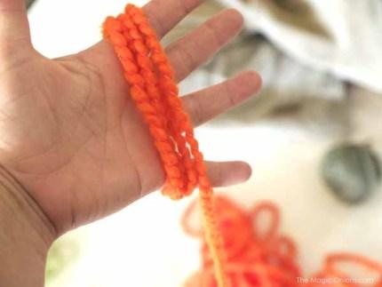 Tutorial : Yarn Pumpkin : The Magic Onions Blog