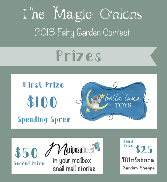 Fairy Garden Contest :: The Magic Onions :: www.theMagicOnions.com