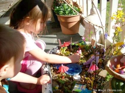 Fairy Garden - www.theMagicOnions.com