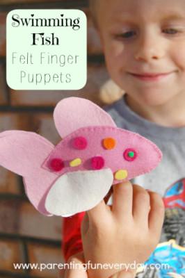 Make felt finger puppets :: www.theMagicOnions.com