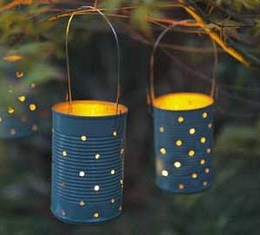 Let's Make a Tin Can Lantern