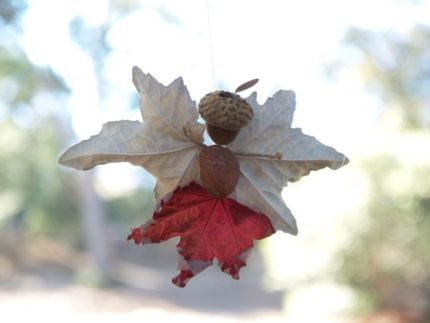 Leaf and Acorn Fairy : www.theMagicOnions.com