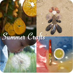 Summer Crafts from The Magic Onions : www.theMagicOnions.com