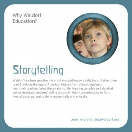 Storytelling : Discovering Waldorf Education
