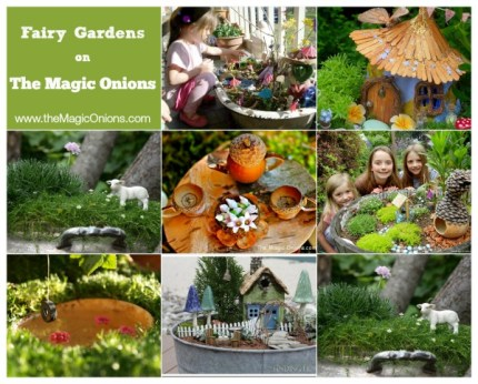Fairy Gardens : The Magic Onions : www.theMagicOnions.com