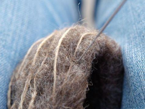 Needle Felting Tutorial : Felted Hummingbirds Nest : www.theMagicOnions.com