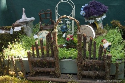 Fairy Garden : www.theMagicOnions.com