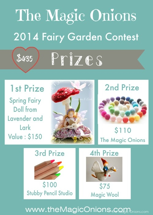 Fairy Garden Contest Prizes : 2014 : The Magic Onions.com