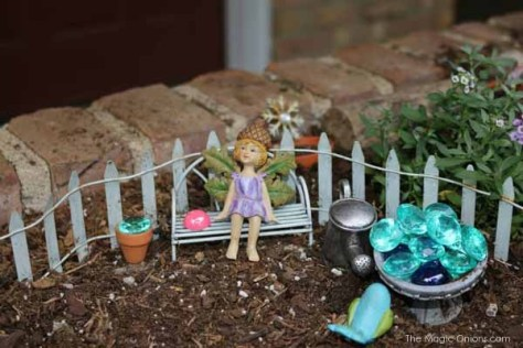 Magical Fairy Garden : The Magic Onions : www.theMagicOnions.com