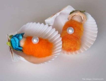 Shell Babies in Autumn Magic Craft Box : The Magic Onions