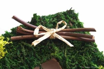 Nature Photo Frame in Autumn Magic Craft Box : The Magic Onions