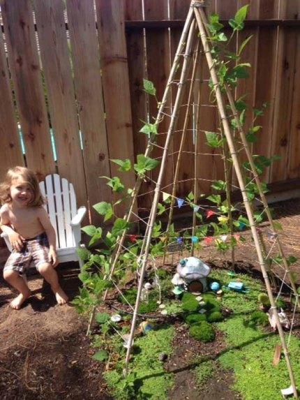 Kid-Friendly Fairy Garden : The Magic Onions : www.theMagicOnions.com