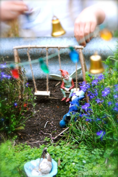 Kid Friendly Fairy Garden : 2nd Place Winner of the 2014 Fairy Garden Contest on The Magic Onions : www.theMagicOnions.com