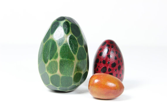 Dragon Eggs from Muddy Feet on Etsy