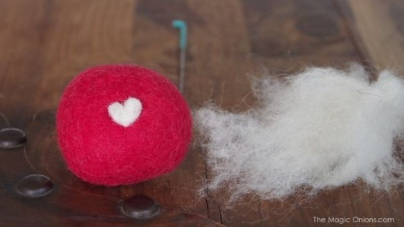Felted Wool Pebbles : The Magic Onions Blog