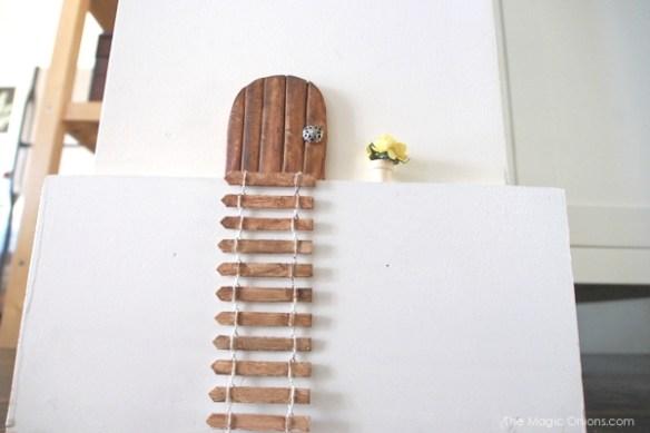 DIY Tutorial Fairy Door : The Magic Onions Blog
