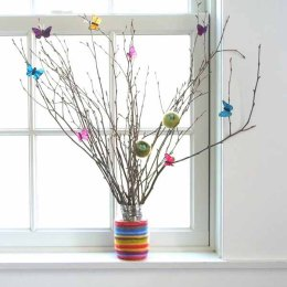 Tutorial : Needle Felted Spring Nest