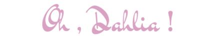 Oh, Dalia !